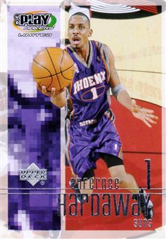 2001-02 Upper Deck Playmakers #75 Anfernee Hardaway