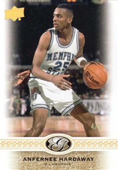 2011 Upper Deck All Time Greats Gold Spectrum #191 Anfernee Hardaway