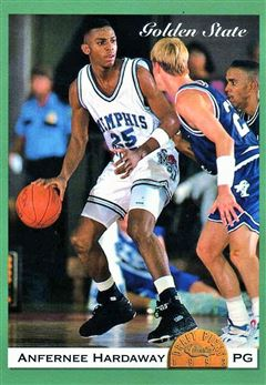 1993 Classic Draft Draft Day Silver #2 Anfernee Hardaway/Golden State