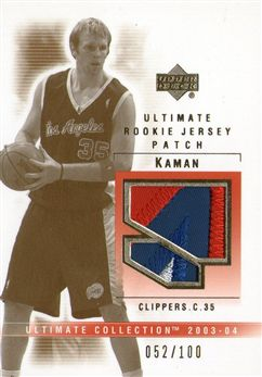 2003-04 Ultimate Collection Patches #CK Chris Kaman
