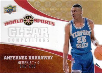 2010 Upper Deck World of Sports Clear Competitors #CC9 Anfernee Hardaway