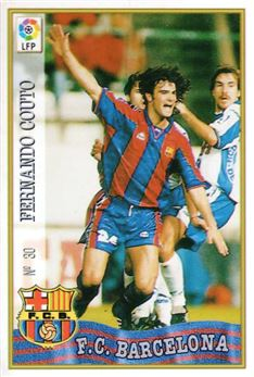 1997-98 Mundicromo Las Fichas de la Liga #30 Fernando Couto