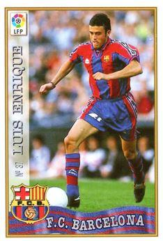 1997-98 Mundicromo Las Fichas de la Liga #37 Luis Enrique
