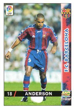 1998-99 Mundicromo Las Fichas de la Liga #18 Anderson