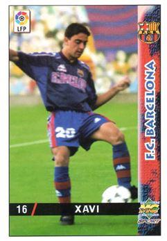 1998-99 Mundicromo Las Fichas de la Liga #16 Xavi
