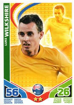 2010 Topps Match Attax World Cup #17 Luke Wilkshire Australia