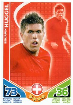 2010 Topps Match Attax World Cup #235 Benjamin Huggel Switzerland