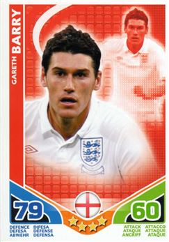 2010 Topps Match Attax World Cup #68 Gareth Barry England