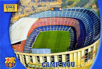 2002-03 Mundicromo Las Fichas de la Liga #83 Camp Nou