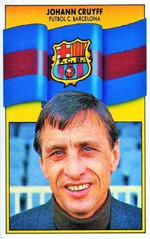 1990-91 Editions Este la Liga # Johann Cruift /Entrenador