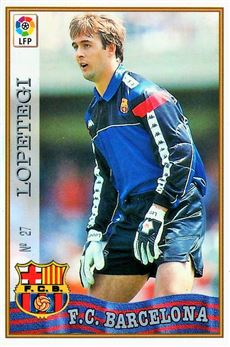 1997-98 Mundicromo Las Fichas de la Liga #27 Lopetegi