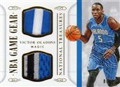 2014-15 Panini National Treasures NBA Game Gear Duals Prime