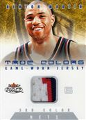 2001-02 Fleer Force True Colors Jerseys Three Color