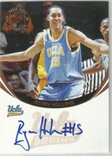 2006 Press Pass Autographs Ryan Hollins NNO