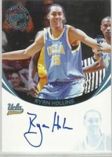 2006 Press Pass Autographs Blue Ryan Hollins /50 NNO
