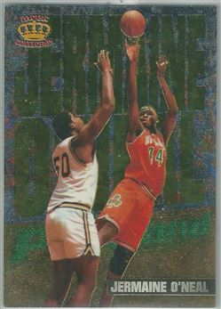 1996 Pacific Power In The Paint #IP16 Jermaine O'Neal - $2.50