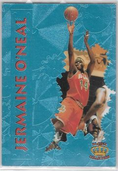 1996 Pacific Power Platinum #38 Jermaine O'Neal