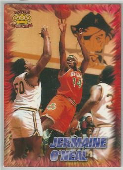1996 Pacific Power Regents of Roundball #RR38 Jermaine O'Neal