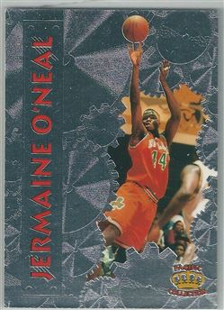 1996 Pacific Power Silver #38 Jermaine O'Neal