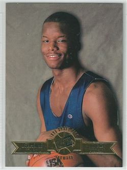 1996 Press Pass Swisssh #16 Jermaine O'Neal