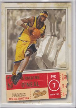 2004-05 Fleer Authentix Parallel 100 #3 Jermaine O'Neal