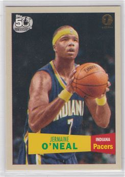 2007-08 Topps 1957-58 Variations First Edition #7 Jermaine O'Neal