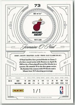 2009-10 Playoff National Treasures Century Materials NBA Logoman Signatures #73