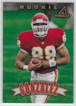 1997 Pinnacle #163 Tony Gonzalez RC