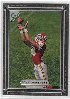 1997 Topps Gallery #11 Tony Gonzalez RC