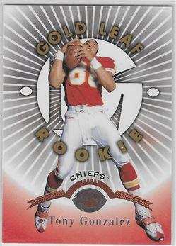 1997 Leaf #174 Tony Gonzalez RC