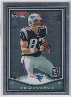 2010 Bowman Chrome Rookie Preview Inserts #BCR25 Rob Gronkowski