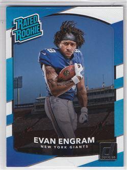 2017 Donruss #330 Evan Engram RR RC