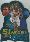 1997-98 E-X2001 Star Date 2001