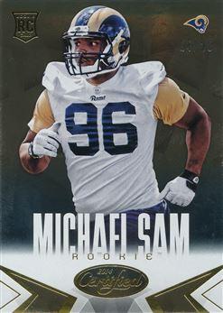 2014 Certified Gold #152 Michael Sam