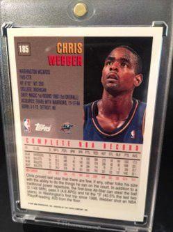 Topps O-Pee-Chee Chris Webber #185