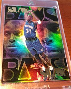1998-99 Hoops Slam Bams Kevin Garnett 21/100