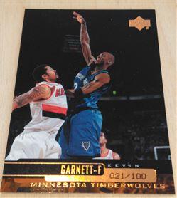 1999-00 Upper Deck Bronze #318 Kevin Garnett 21/100