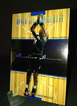 1999-00 Hardcourt Baseline Grooves Rainbow Kevin Garnett 21/500