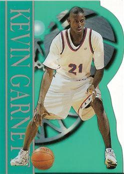 1995 Classic Clear Cuts Kevin Garnett 21/595