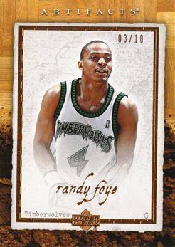 2007-08 Artifacts Copper #055 Randy Foye