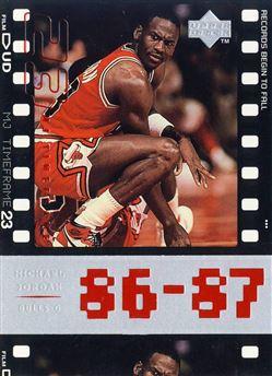 e47935493c2378 1998 Upper Deck Michael Jordan Living Legend  014 Michael Jordan TF 1986-87