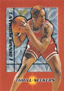 1997-98 Fleer Thrill Seekers #09 Dennis Rodman