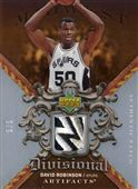 2007-08 Artifacts Divisional Artifacts Patches Silver