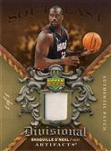 2007-08 Artifacts Divisional Artifacts Patches Gold