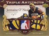 2007-08 Artifacts Triple Jerseys Gold