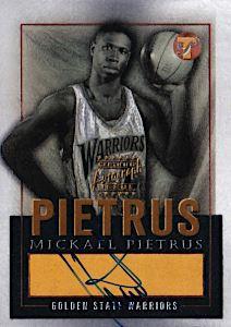 2003-04 Topps Pristine Personal Endorsements Gold #MP Mickael Pietrus
