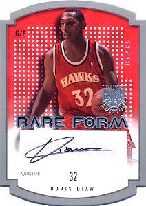 2003-04 SkyBox LE Rare Form Autographs #7 Boris Diaw
