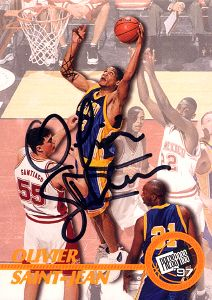 1997 Press Pass Autographs #20 Olivier Saint-Jean