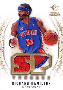 2008-09 SP Rookie Threads SP Threads Patch #TRH Richard Hamilton