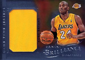 2012-13 Panini Brilliance Game Time Jerseys #53 Kobe Bryant